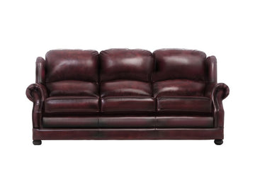 Marlow | 3 Seater Sofa | Antique Red