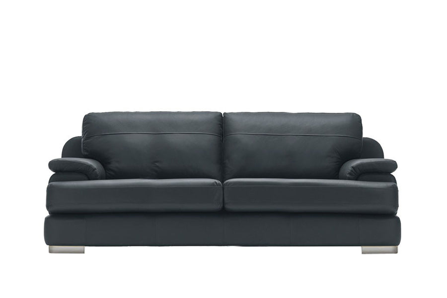 Marino | 3 Seater Sofa | Softgrain Black