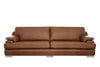 Marino | 4 Seater Sofa | Softgrain Tan