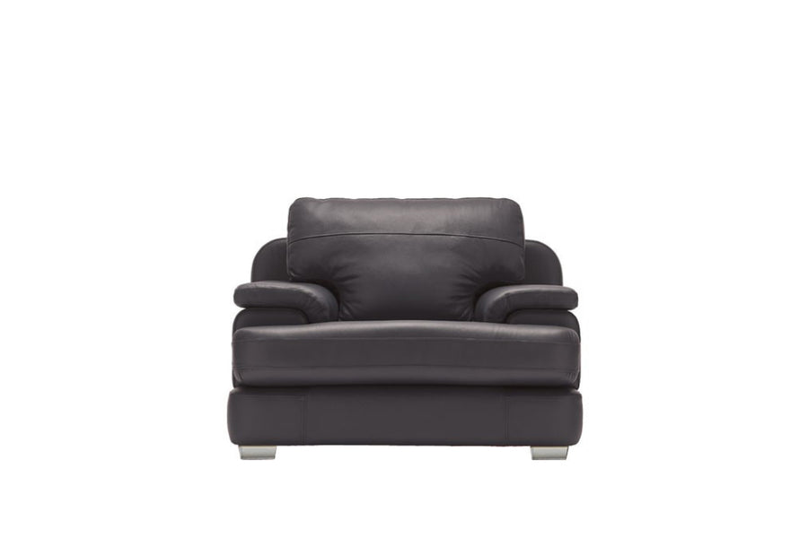 Marino | Armchair | Softgrain Black