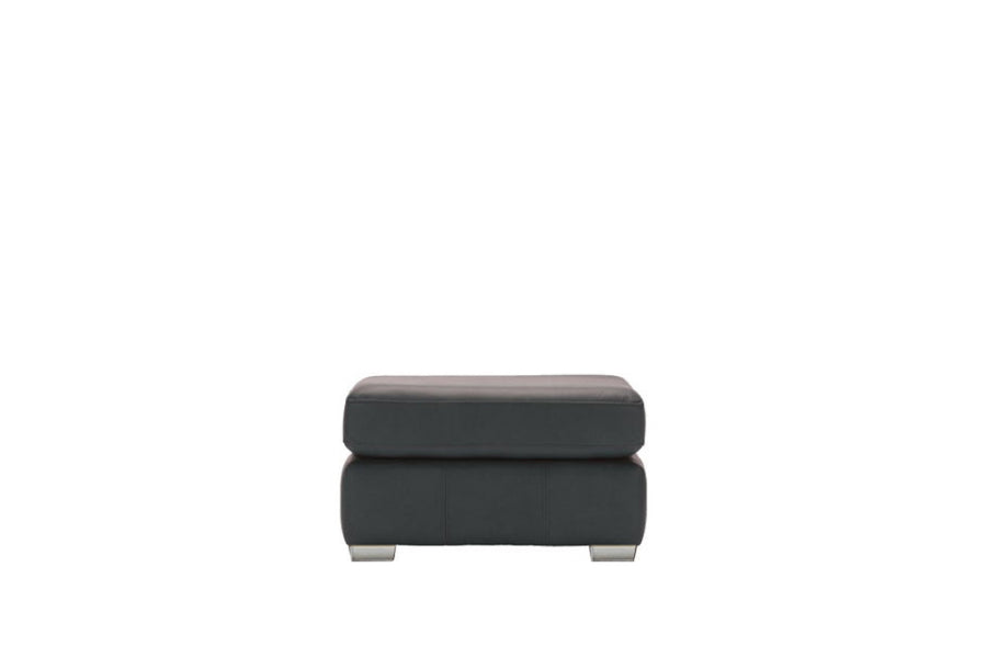 Marino | Footstool | Softgrain Black