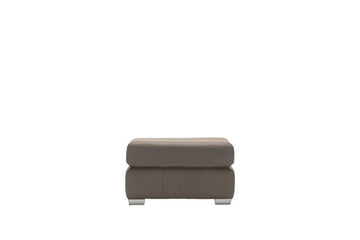 Marino | Footstool | Softgrain Grey