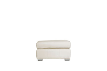 Marino | Footstool | Softgrain White