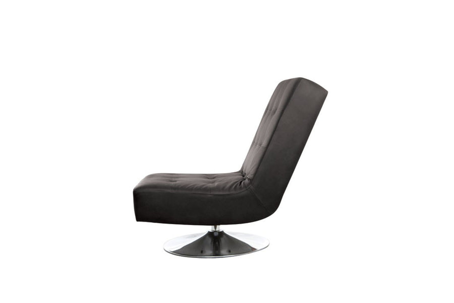 Marino | Swivel Chair | Softgrain Black