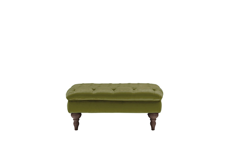 Mia | Bench Footstool | Opulence Olive Green