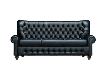 Monk | 3 Seater Sofa | Antique Blue