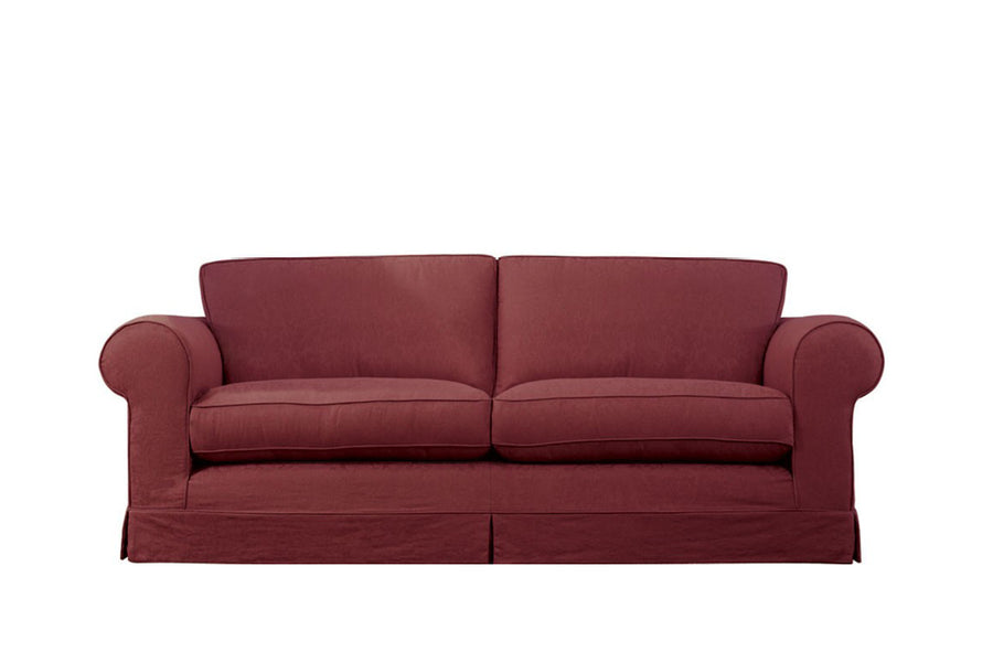 Albany | 3 Seater Sofa | Kingston Burgundy