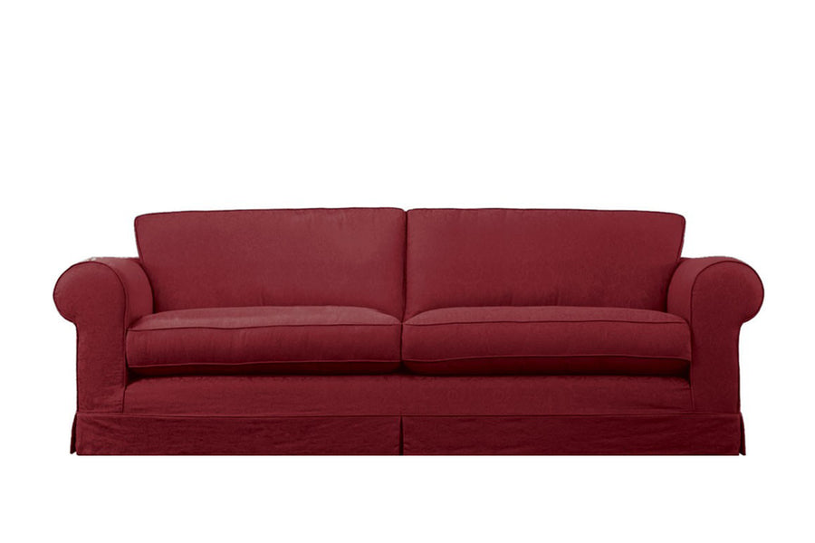 Albany | 4 Seater Sofa | Kingston Burgundy