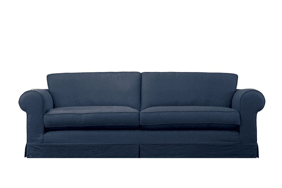 Albany | 4 Seater Sofa | Kingston Dark Blue