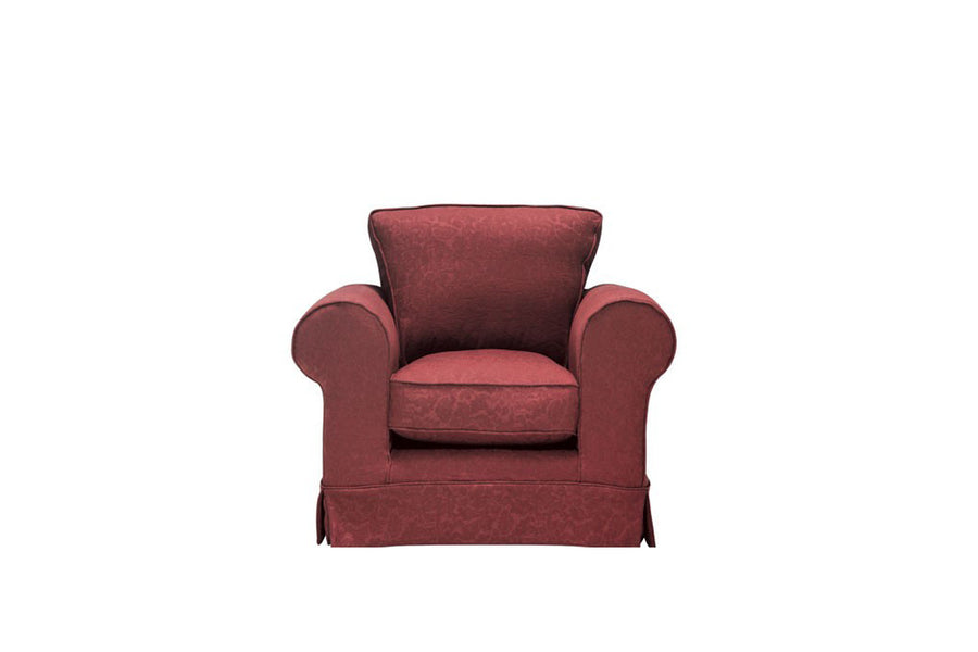 Albany | Club Chair | Kingston Burgundy