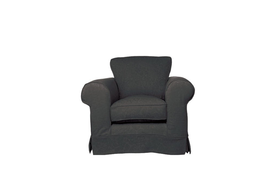 Albany | Club Chair | Kingston Charcoal