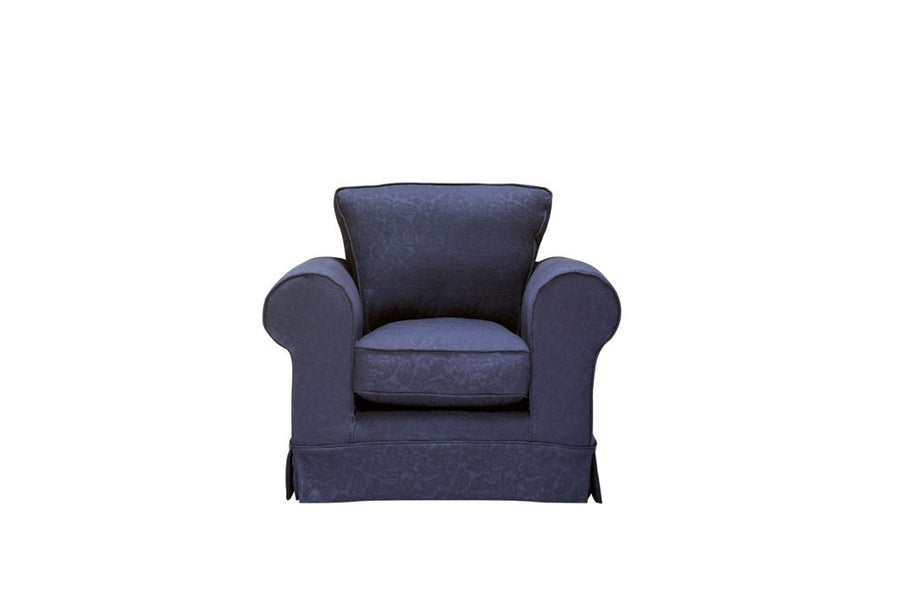 Albany | Club Chair | Kingston Dark Blue