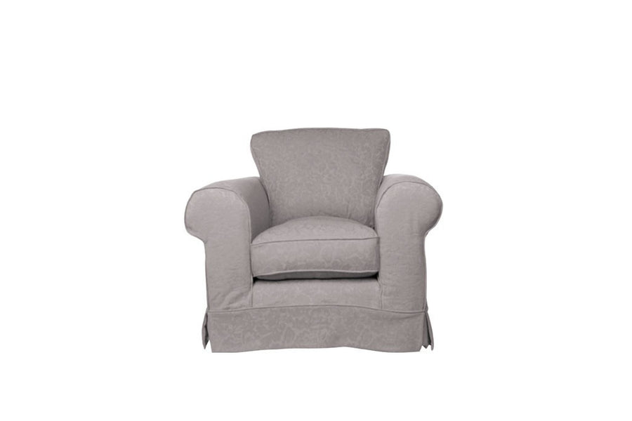 Albany | Club Chair | Kingston Light Grey