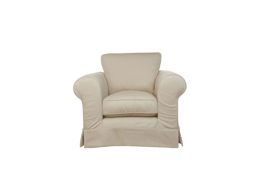 Albany | Club Chair | Miami Ivory
