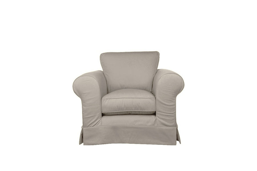 Albany | Club Chair | Miami Oyster