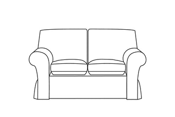 Newport | 2 Seater Sofa Extra Loose Cover | Capri Honey