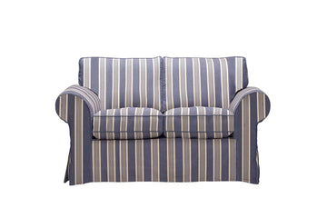 Newport | 2 Seater Sofa | Capri Blue Stripe
