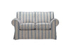 Newport | 2 Seater Sofa | Capri Grey Stripe