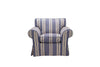 Newport | Armchair | Capri Blue Stripe