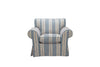 Newport | Armchair | Capri Grey Stripe