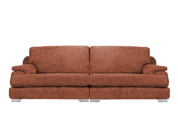 Olivia | 4 Seater Sofa | Hopsack Sunset