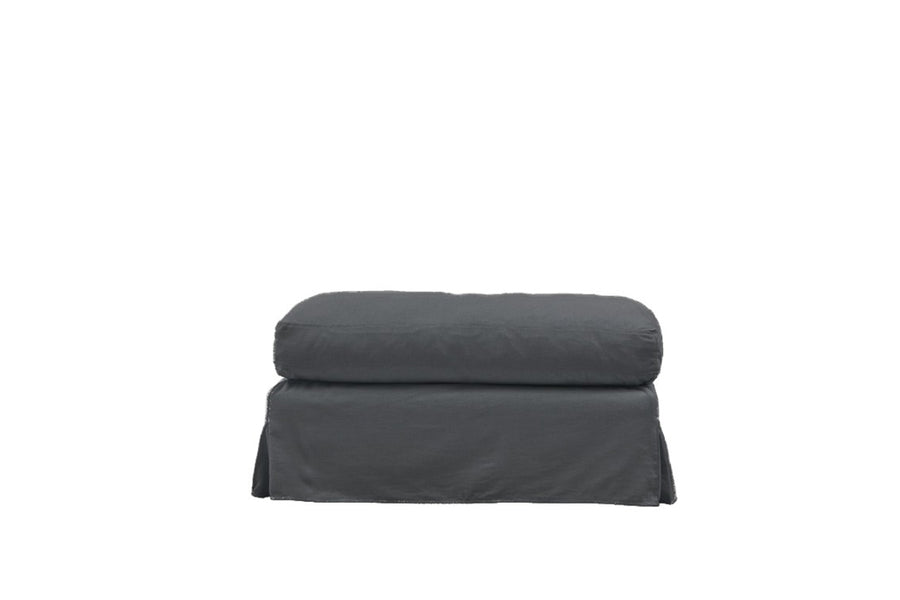 Kate | Bench Footstool | Mae Charcoal