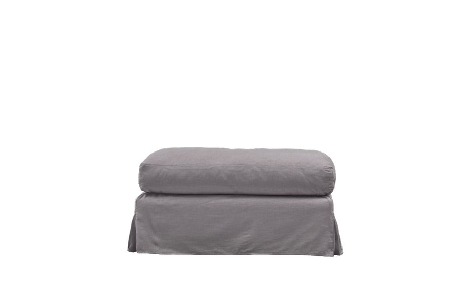 Kate | Bench Footstool | Mae Light Grey
