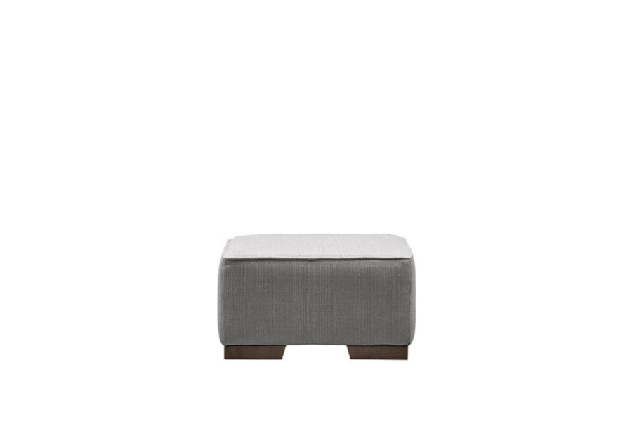 Palma | Footstool | Carnaby Pewter