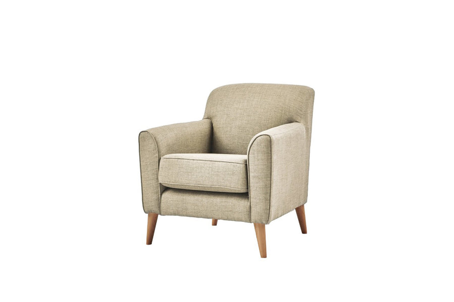Poppy | Companion Chair | Linoso Biscuit