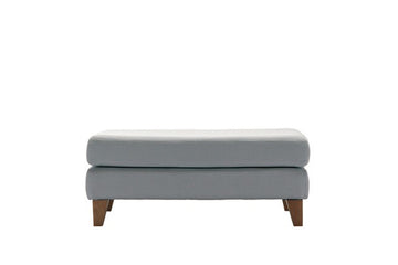 Amelia | Bench Footstool | Victoria Smokey Grey
