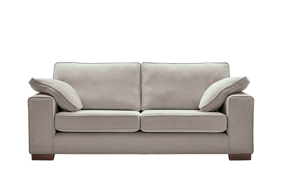 Denver | 3 Seater Sofa | Atlanta Light Grey
