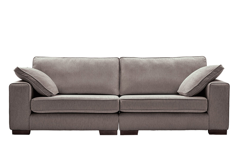 Denver | 4 Seater Sofa | Atlanta Dark Grey