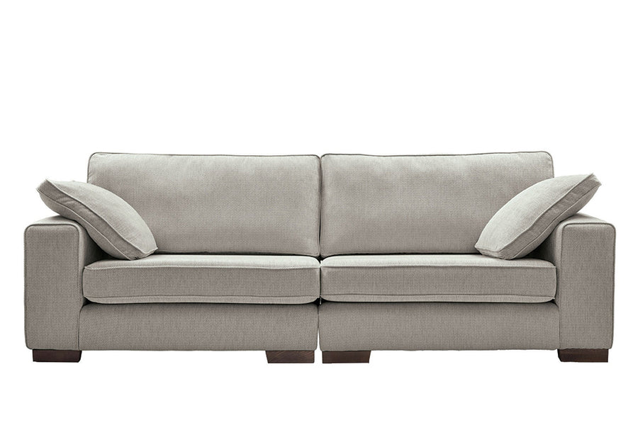 Denver | 4 Seater Sofa | Atlanta Light Grey