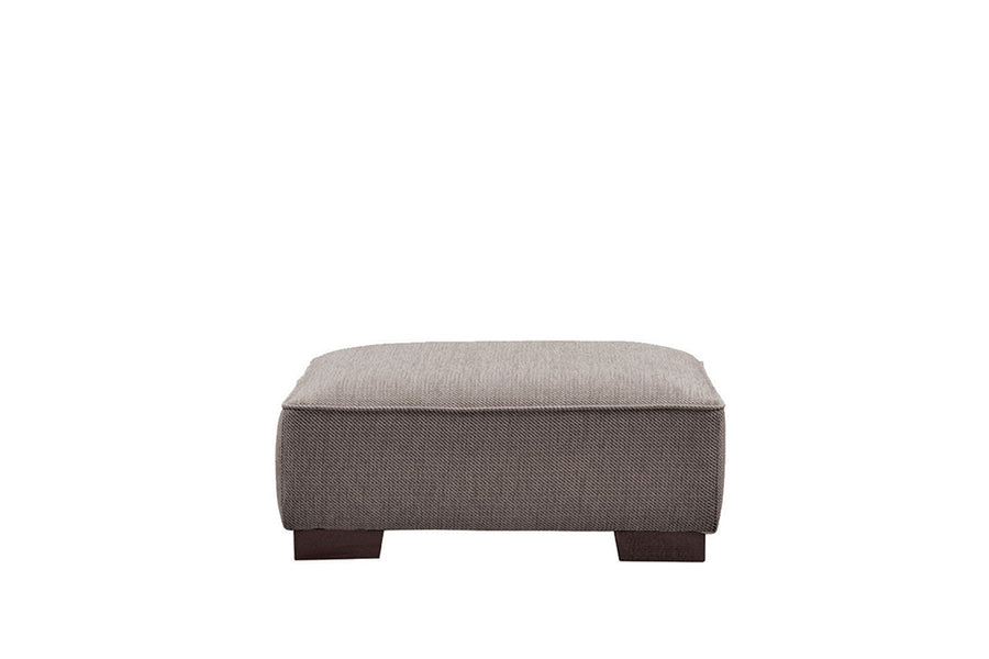 Denver | Footstool | Atlanta Dark Grey