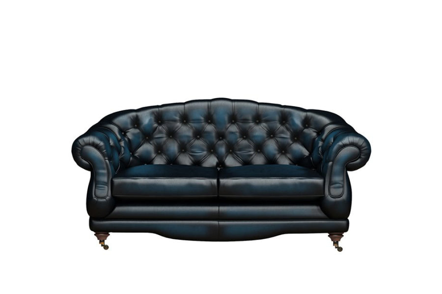 Regent | 2 Seater Sofa | Antique Blue