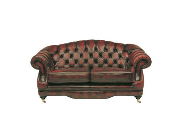 Regent | 2 Seater Sofa | Antique Red