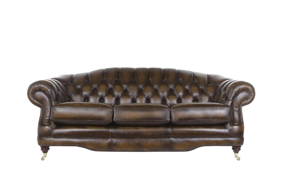Regent | 3 Seater Sofa | Antique Gold