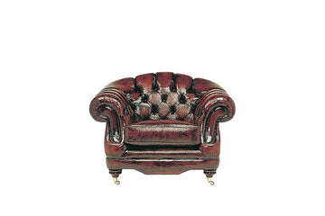 Regent | Club Chair | Antique Red
