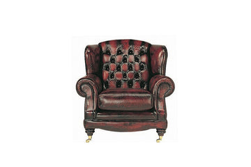 Regent | Highback Chair | Antique Red