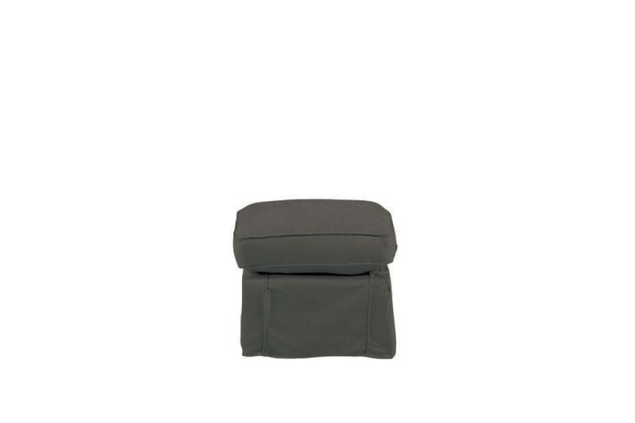 Madrid | Footstool | Kingston Charcoal