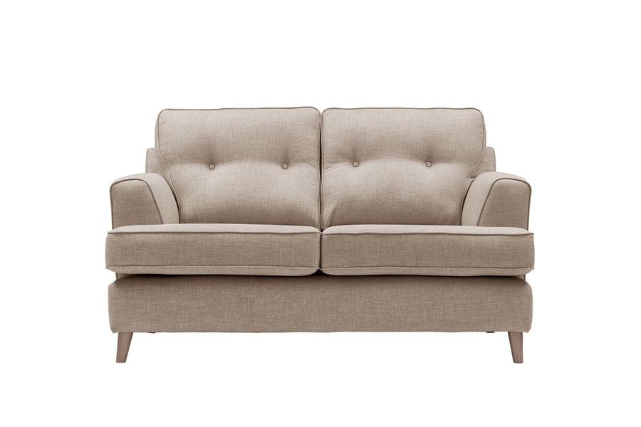 Poppy | 2 Seater Sofa | Linoso Biscuit