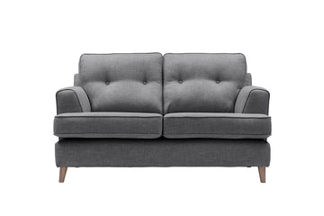 Poppy | 2 Seater Sofa | Linoso Charcoal