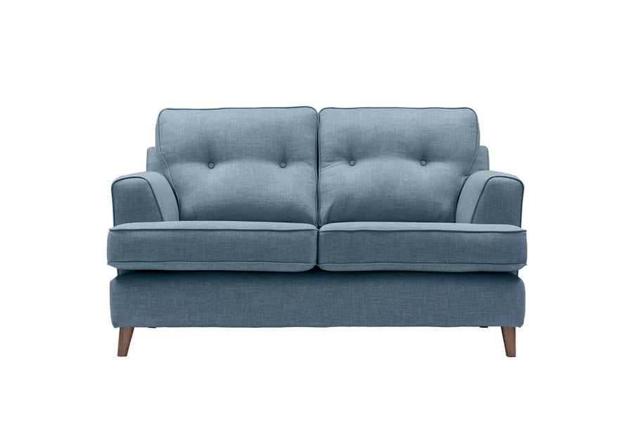 Poppy | 2 Seater Sofa | Linoso Denim