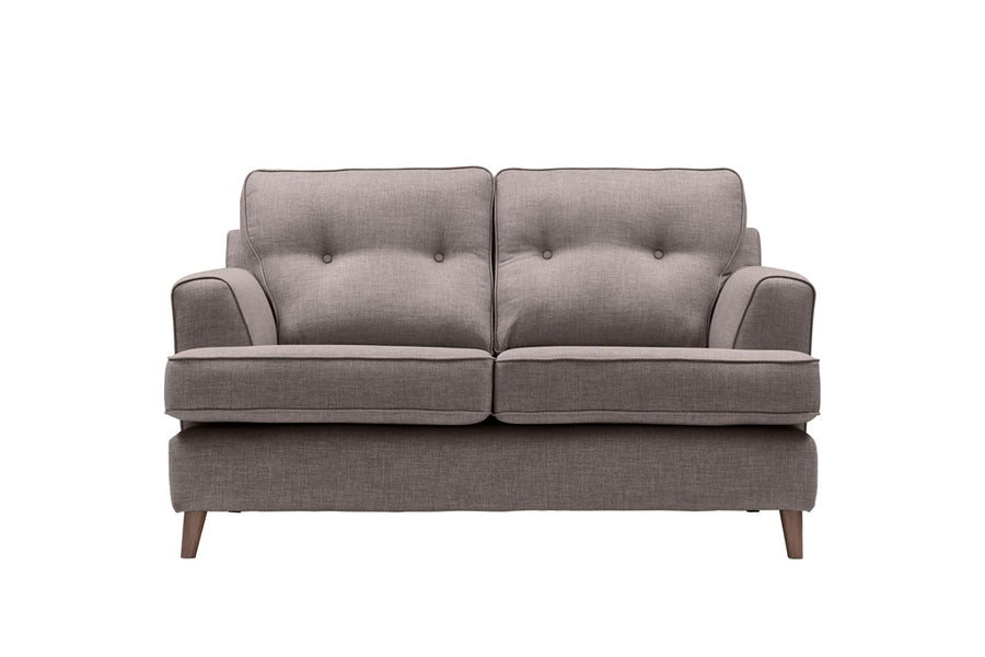Poppy | 2 Seater Sofa | Linoso Grey