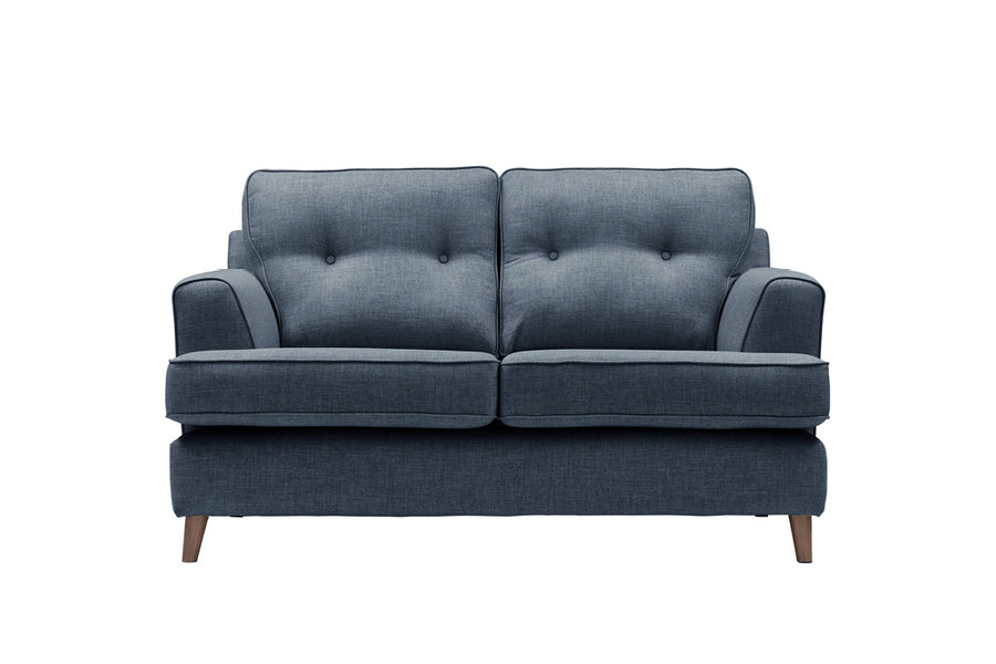 Poppy | 2 Seater Sofa | Linoso Midnight