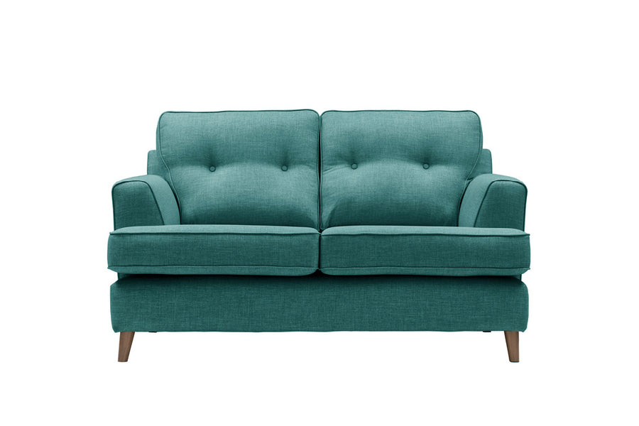 Poppy | 2 Seater Sofa | Linoso Teal