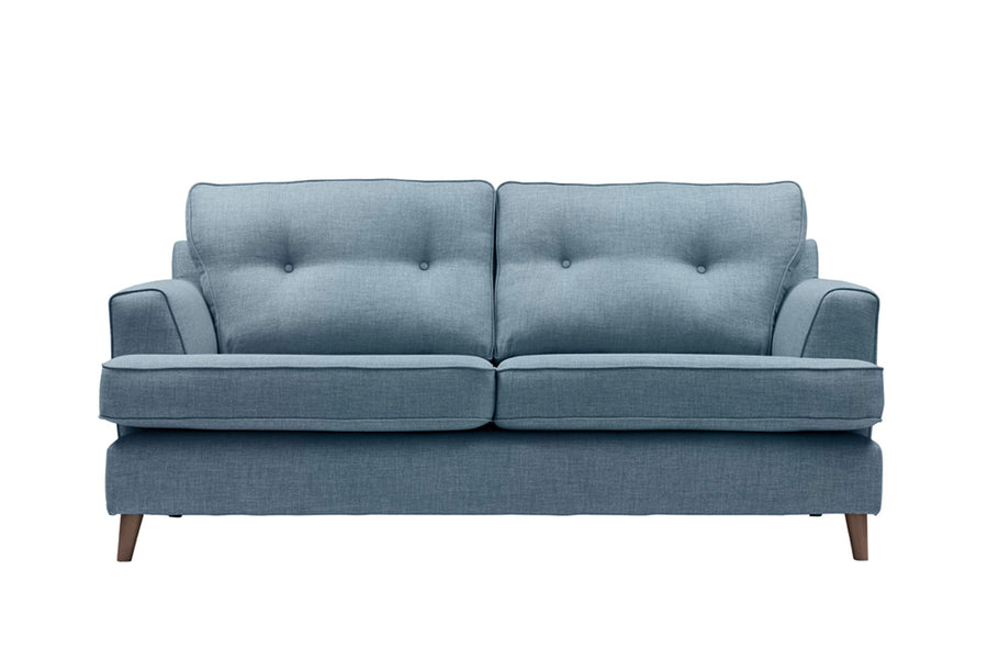 Poppy | 3 Seater Sofa | Linoso Denim