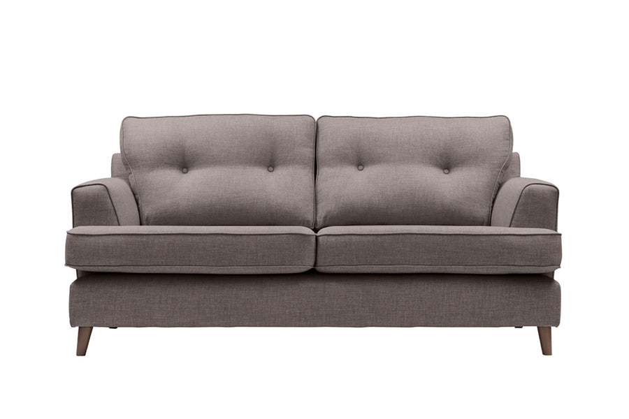 Poppy | 3 Seater Sofa | Linoso Grey