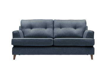 Poppy | 3 Seater Sofa | Linoso Midnight