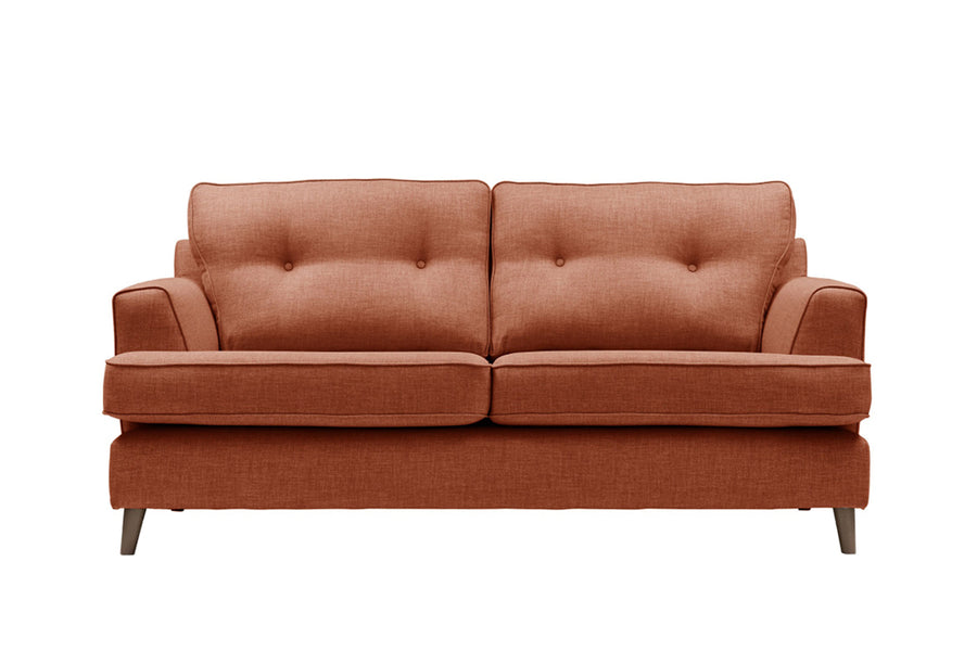 Poppy | 3 Seater Sofa | Linoso Terracotta